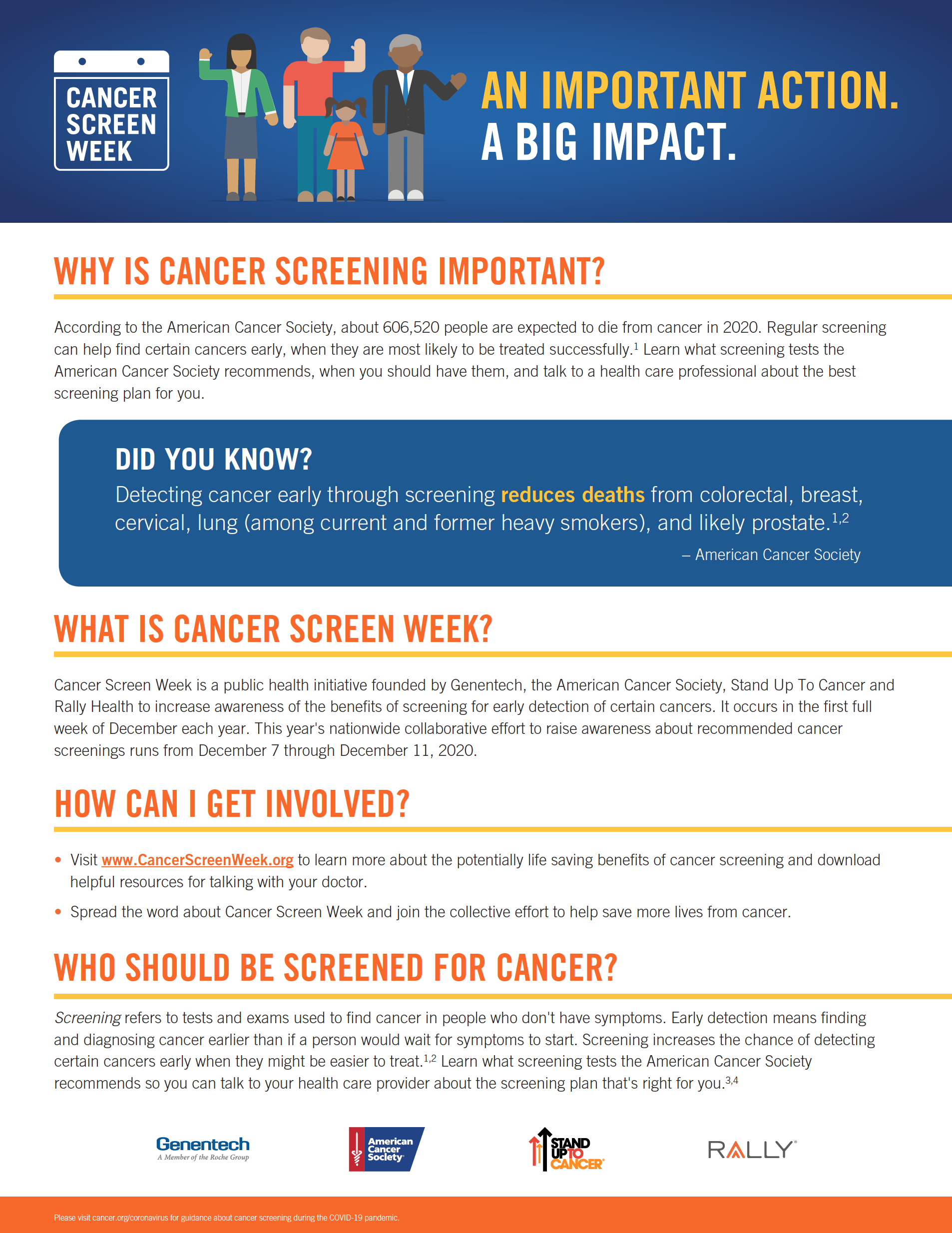 Cancer Screen Week 2020